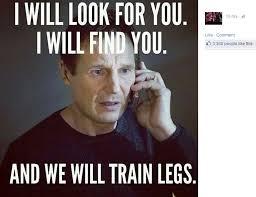 Leg Day Meme - the internet is making fun of dan bilzerian s chicken legs