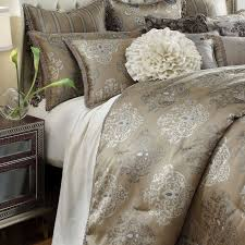 Michael Amini Bedding Sets Michael Amini Solitaire Luxury Bedding Set Cmw Sheets Bedding