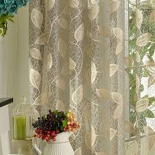 light grey sheer curtains fancy sheer printed curtains decor with light grey color leaf