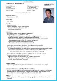 Resume Format Pdf For Electrical Engineer by Resumes For College Applications