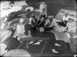 for parade picasso in rome with diaghilev cocteau and massine the ballets