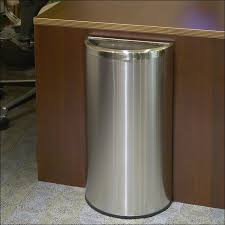 Large Kitchen Trash Can With Lid by Outdoor 32 Gallon Galvanized Trash Can Steel Trash Can Trash Can