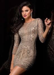 robe grise pour mariage robe du nouvel an robe grise manche longue ambre mariage