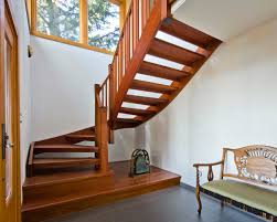 awesome wooden staircase youtube