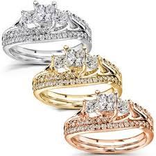 gold wedding set bridal jewelry sets shop the best wedding ring sets deals for