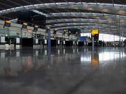 london heathrow terminal 5 shiny floor very few people u2026 flickr