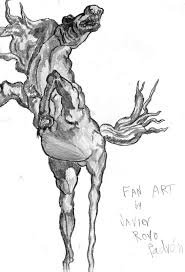 caballo de salvador dali by nuevolucion on deviantart