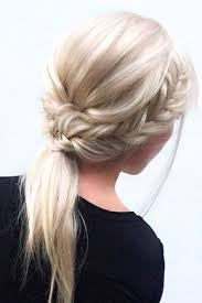 layer hair with ponytail at crown 33 trendy hairstyles for medium length hair you will love braided