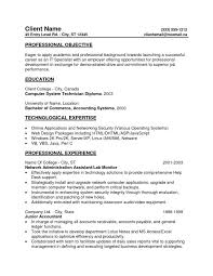 Sample Resume For Warehouse Supervisor Sample Resume Objective For Accounting Position Accounting Resume