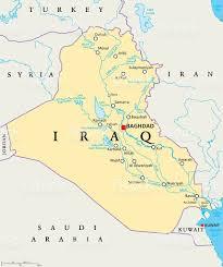 Map Iraq Iraq Political Map Stock Vector Art 544803586 Istock