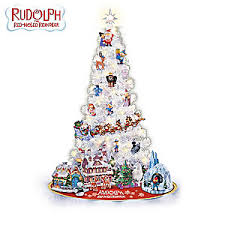 rudolph tree collection 3 foot pre lit tree with