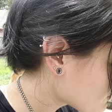 if you stretch an earlobe piercing up to 1 2 or bigger will it