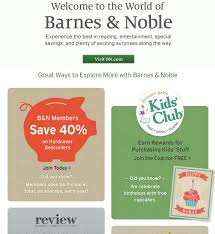 Barnes And Nobles Membership 41 Best Welcome Emails Images On Pinterest Email Marketing