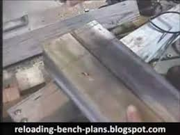 Reloading Bench Plan Reloading Bench Plans Youtube