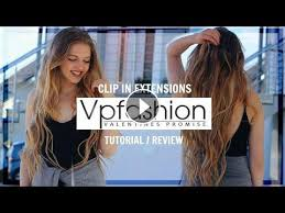 vpfashion hair extensions review clip in extensions vpfashion review geld wert by about