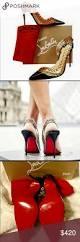 christian louboutin malaika red bottom heels 8 5 nwt