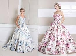 floral wedding dresses 17 floral wedding dresses you can shop now brit co