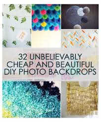 cheap backdrops 32 unbelievably cheap and beautiful diy photo backdrops