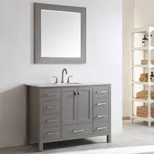 Single Vanity For Bathroom by Beachcrest Home Newtown 48