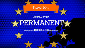 how to make a permanent residence application free movement