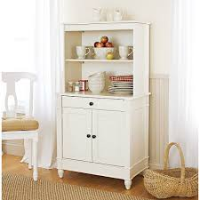 white kitchen hutch cabinet office table