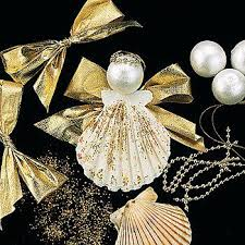 Christmas Angel Decorations Nz by Best 25 Seashell Ornaments Ideas On Pinterest Beach Ornaments