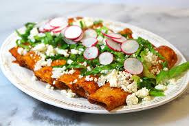 imagenes enchiladas rojas cómo hacer enchiladas rojas recetas de comida mexicana