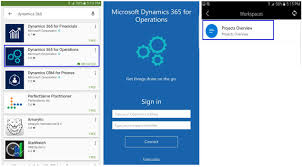 mobile apps for dynamics 365 for operations is available for