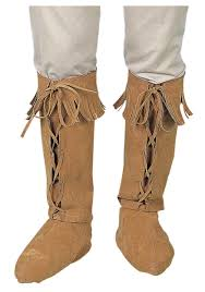 Boots Halloween Costume Indian Fringe Boot Tops