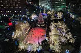 thousands expected for today u0027s tree lighting new downtown detroit