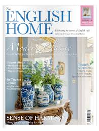 English Home Design Magazines The English Home September 2016 The Chelsea Magazine Company Shop