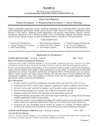 Key Competencies Resume Manufacturing Resume Example