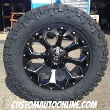 Truck Wheel And Tire Packages Custom Automotive Packages Off Road Packages 20x9 Fuel