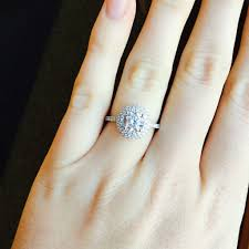 lols wedding band diamond halo engagement ring at leo alfred jewelers of dublin oh