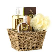 wholesale eco purity verbena deluxe spa shower gift set bath