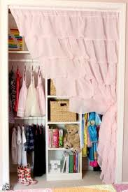 Curtain As Closet Door Sheer Curtain Instead Of A Closet Door No More Pinched Fingers