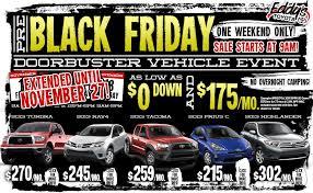 best black friday car deals black friday 2011 car deals toyota