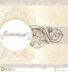 Designing Invitation Cards Wedding Invitation Card For Design Royalty Free Stock Images