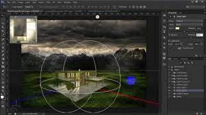 matte painting 3d rendering and post production in photoshop cs6