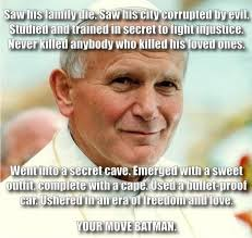 Emerged Meme - 12 of the most awesome memes of pope st john paul ii epicpew