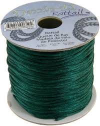 rattail cord mm rattail cord green