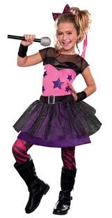 Girls Halloween Costumes Kids Pink Rock Girls Costume Rock Star Costumes Costume