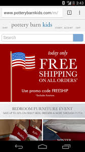 Pottery Barn Mobile Site Retailers Combine Location U0026 Mobile Web For A Holiday Advantage