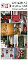 wonderful ways to decorate your front porch for christmas