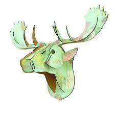 deer home decor 100 stags head home decor buy wooden deer head 3d puzzle