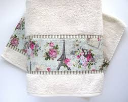 Shabby Chic Bath Towels by Vintage Bath Towels Towel