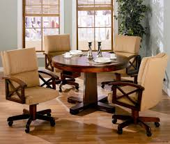dining room chairs with wheels furniture large size of chairs