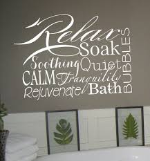 relax collage vinyl lettering decal words wall sticker bathroom relax collage vinyl lettering decal words wall sticker bathroom home art spa vinyldecal letteringwallart