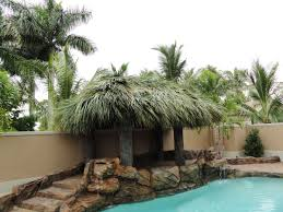 Tiki Hut Paradise Download Backyard Hut Garden Design
