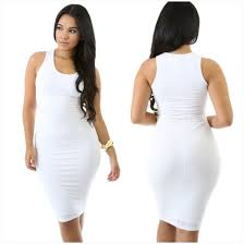 white bodycon dress dress white bodycon dress tank dress white tank con dress